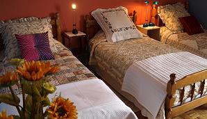 Chambre à coucher à l'appartement de vacances