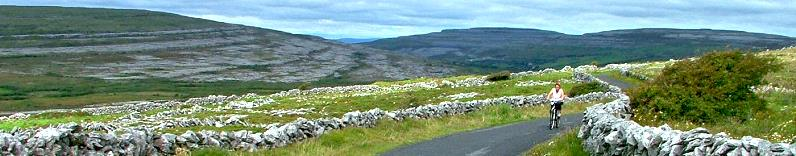 Faire du vélo au Burren